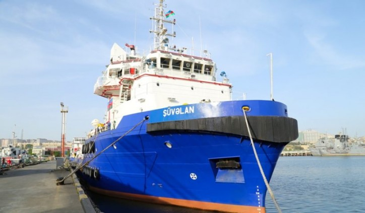 Bibiheybat Shipyard completed overhaul of ASCO's supply and towing vessel Shuvalan