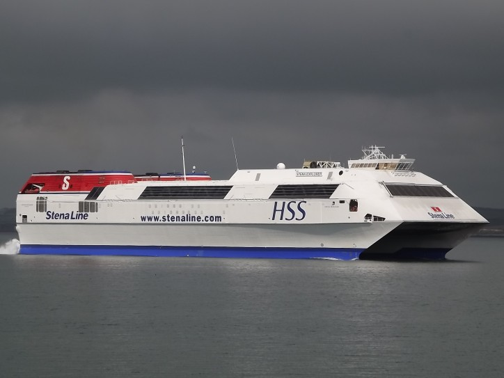 High speed ferry Stena Explorer to be converted to floating office