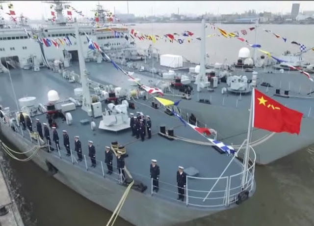 New tank-landing warship joins Chinese navy (Video)