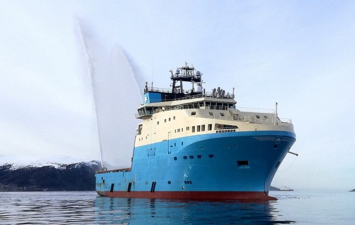 Kleven Verft delivers Maersk Minder - Fourth vessel in the Starfish series of six AHTS ordered my Maersk Supply Services