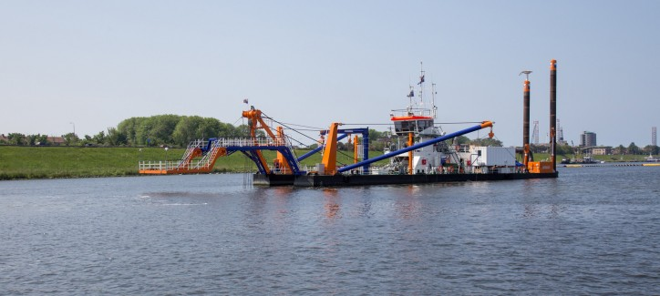 Rijkswaterstaat awarded Van Oord the contract to dredge Marker Wadden channel