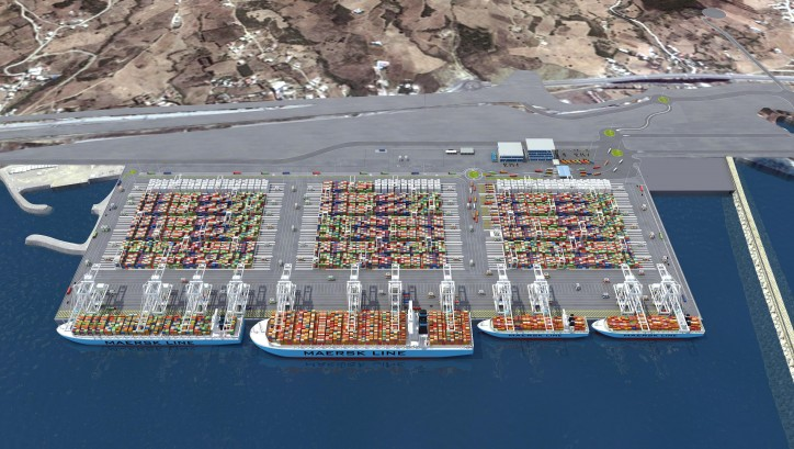 Siemens technology for Africa's first automated container terminal