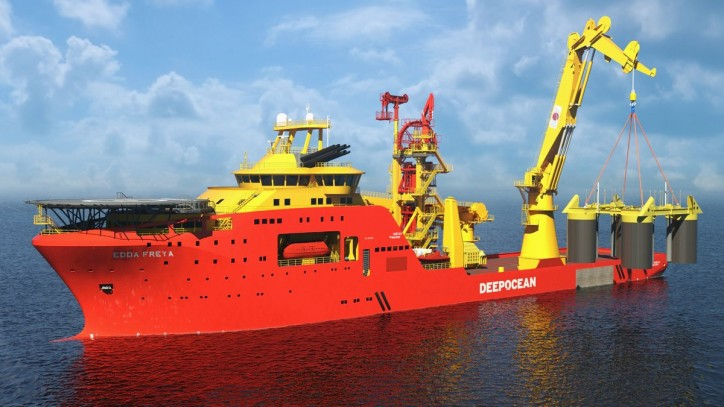 DeepOcean awarded contract by Statoil for marine operations on the SNORRE Expansion Project
