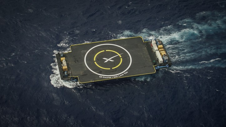 Robotic drone ship