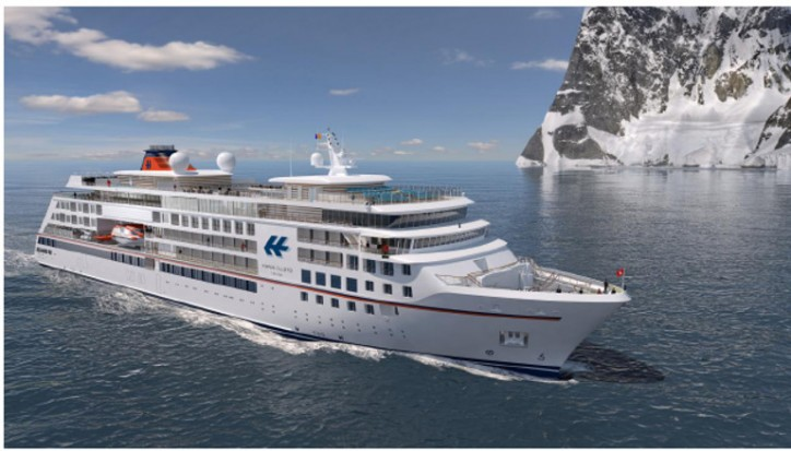 VARD Secures Contract For Two Luxury Expedition Cruise Vessels For Hapag-Lloyd Cruises