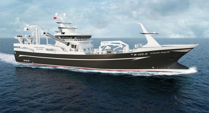 Wärtsilä propulsion solution selected for innovative new fishing vessel