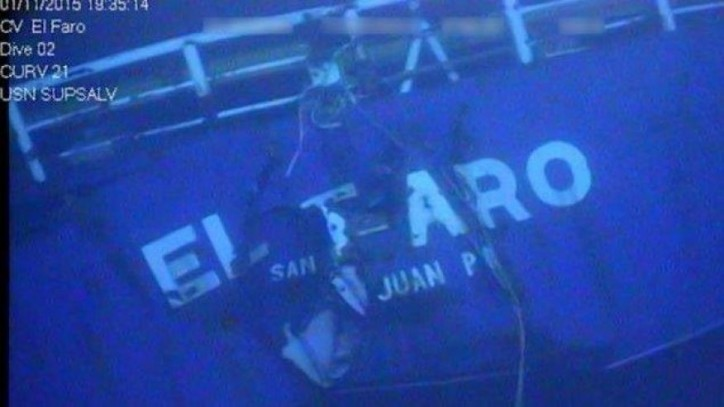 NTSB: Recorder from Cargo Ship El Faro Recovered