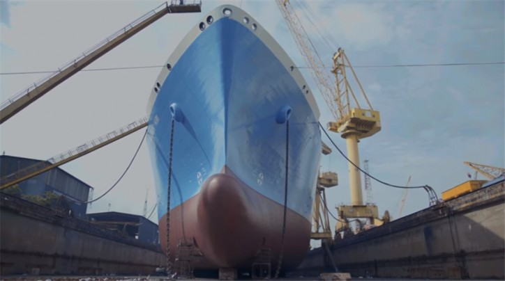 VIDEO: Behind the scenes look into a LNG vessel dry-docking - Teekay