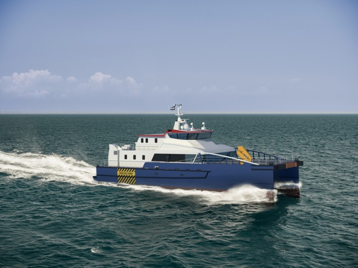 Damen announces a new design for service accommodation and transfer vessel