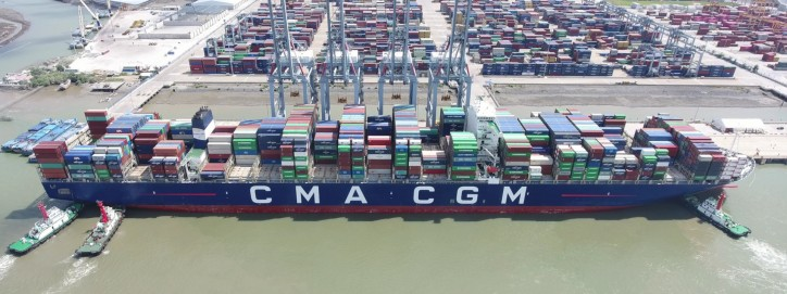 Vietnam receives largest-ever container vessel