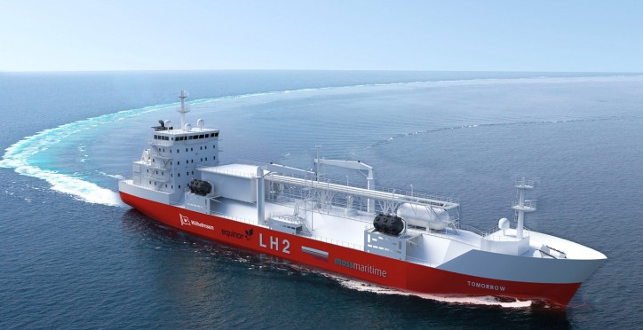 Wilhelmsen: New design makes liquefied hydrogen bunker vessels a reality