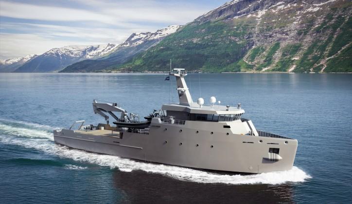 Damen Multi-Role Auxiliary Vessel 1600