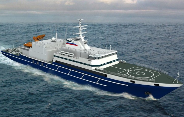 Admiralty Shipyard' s Rescue Ship - Igor Belousov (Russia)