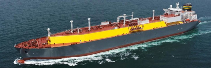 DryShips Inc takes delivery of its fourth Very Large Gas Carrier