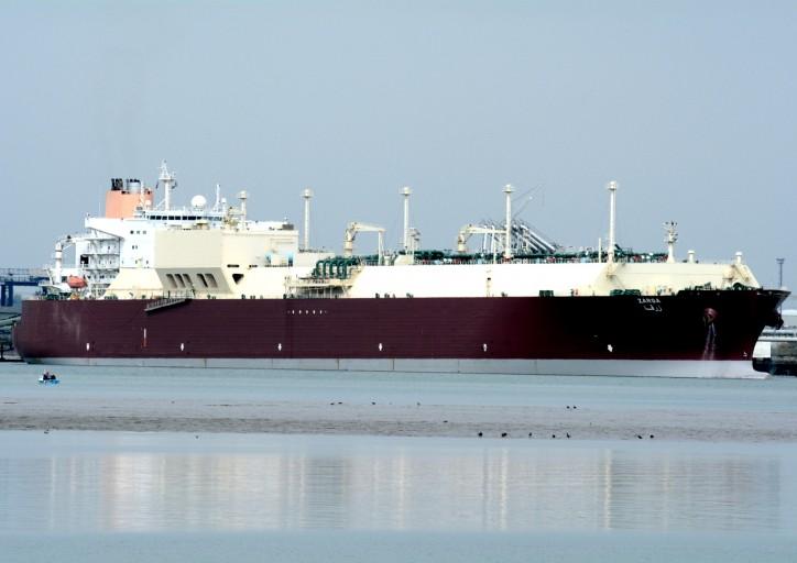 Zarga LNG carrier