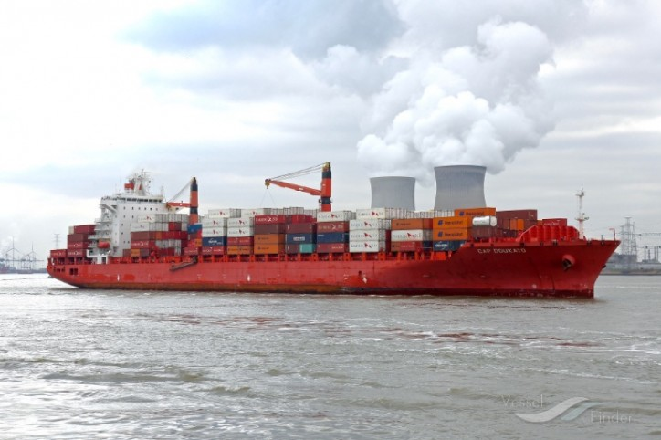 Diana Containerships sales Panamax container vessel Doukato