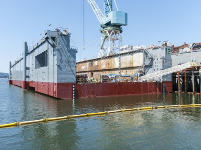 Vigilant dry dock transferred to Seattle