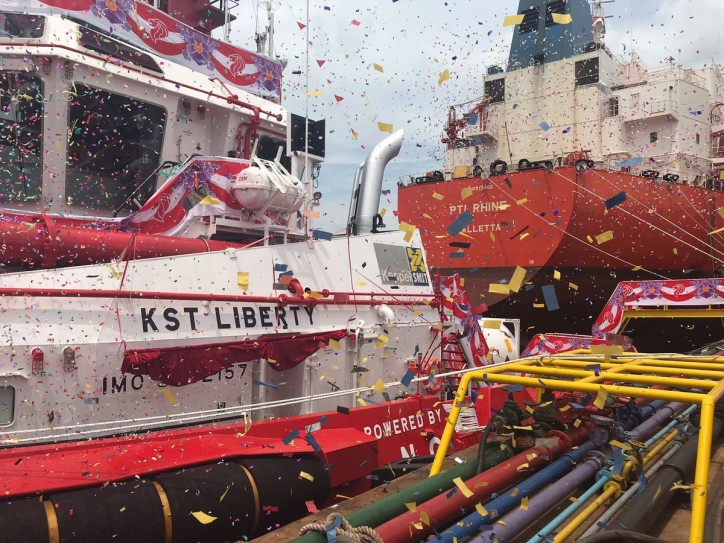 Keppel on track to deliver South East Asia's first LNG powered tug