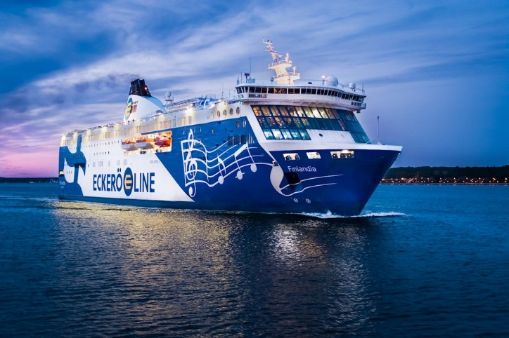 ABB enables Eckerö Line's cruise ferry to increase operational safety