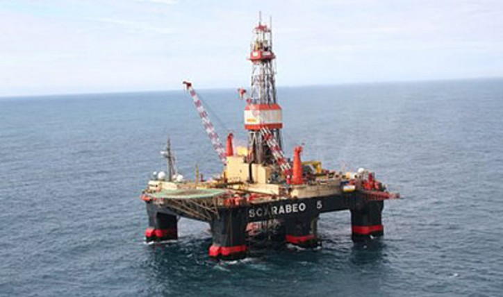 Engine Room Fire on Scarabeo 5 Drilling rig
