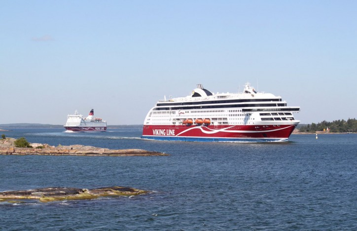 Record volume for Viking Line in 2017