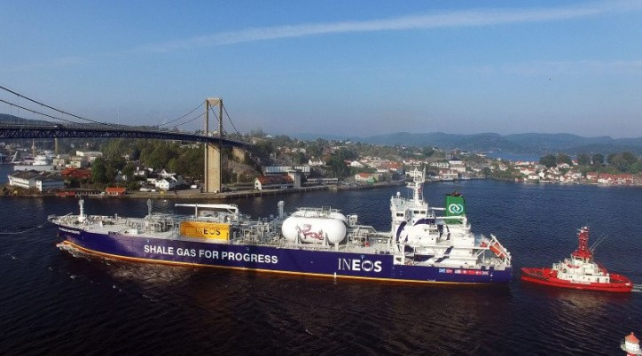 JS Ineos Invention - the last of eight Dragon-series vessels - joins INEOS fleet
