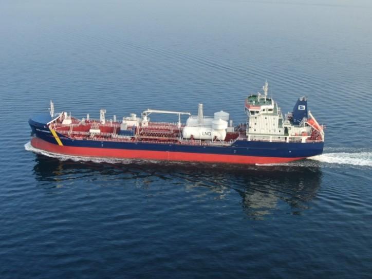 Desgagnés Takes Delivery of the MT Rossi A. Desgagnés – Dual-Fuel/LNG Oil-Chemical Tanker
