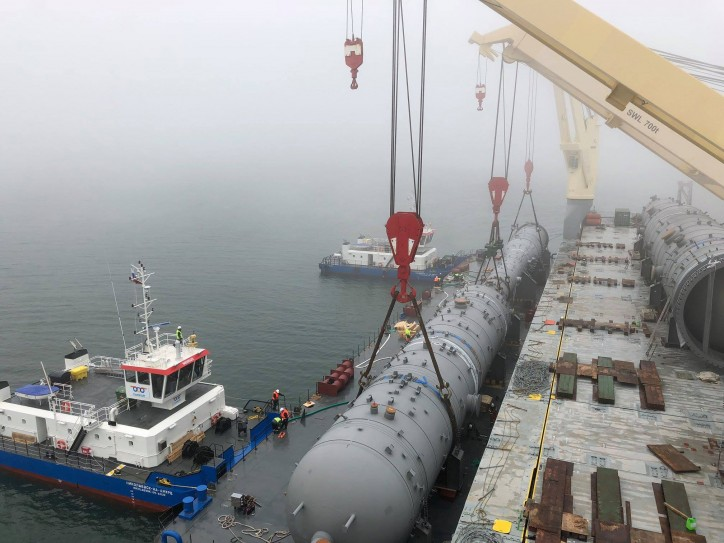German heavy lift expert Combi Lift completes first project phase well ahead of schedule