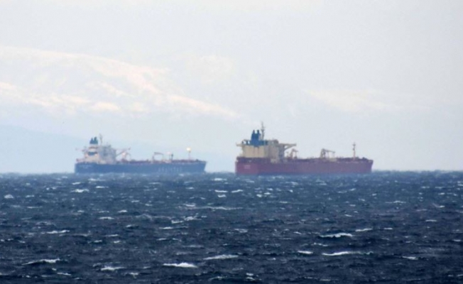 Suezmax tankers Besiktas Bosphorus and Chryssi collided at Dardanelles entrance, Marmara Sea