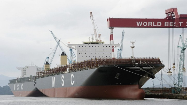 MSC London IMO number 9606302