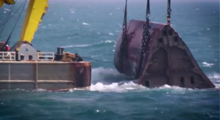 Wreck removal of Baltic Ace fully completed (Video)