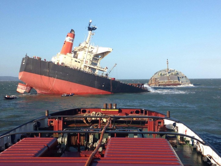 MV Smart Ship Wreck Removed By Titan Salvage