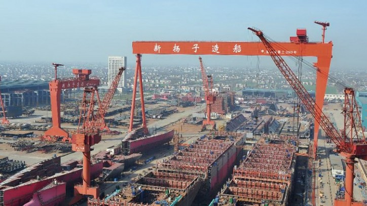 Yangzijiang Shipbuilding wins order for the construction of up to ten bulkers