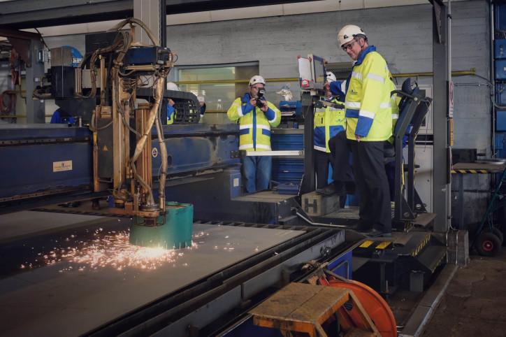 Construction of new Vaasa-Umeå ferry begins at Rauma shipyard