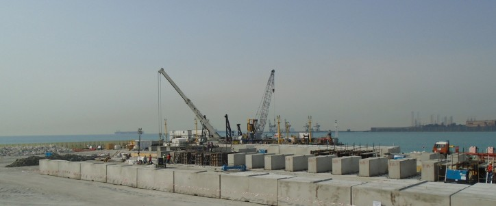 Besix completes construction of Bahrain LNG Import Terminal in Muharraq Island