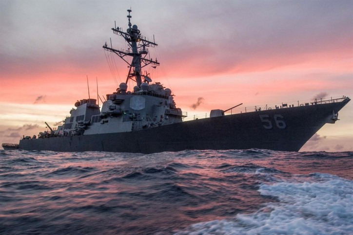 Ten missing after collision of US Guided-missile destroyer JOHN MCCAIN and TANKER ALNIC MC in Singapore waters