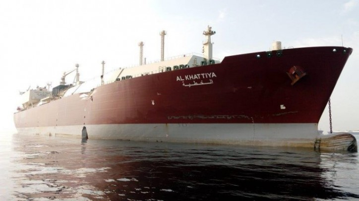 Nakilat's Q-Flex LNG carrier Al Khattiya hit by crude carrier Jag Laadki off Fujairah (Video)