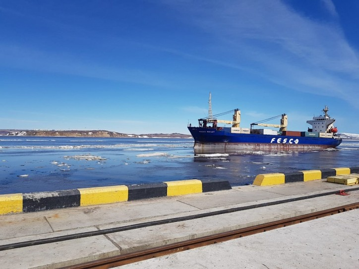 FESCO transported 24 000 tons to Chukotka under the northern delivery of cargoes-2018