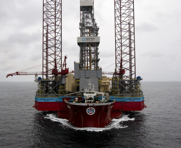 Maersk Drilling gets four-month extension for Maersk Intrepid