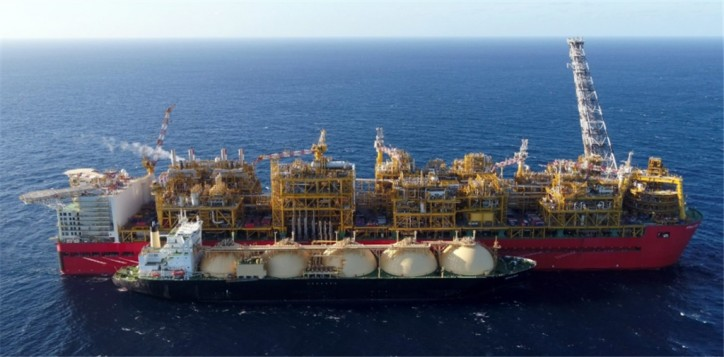 Shell's Prelude FLNG Facility reached a significant milestone, with gas introduced onboard