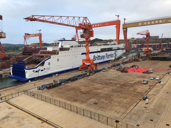 Double-celebration for two new Brittany Ferries ships
