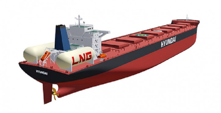 Hyundai Heavy Industries localizing tech for LNG fuel tanks