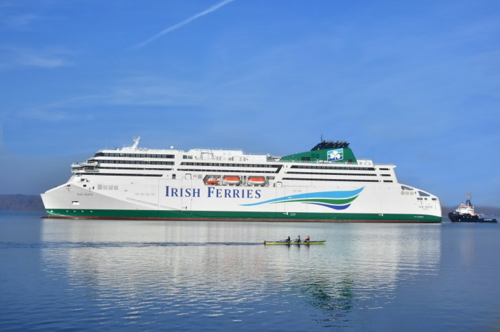 Irish Ferries prepares for Christmas delivery of the W.B. Yeats