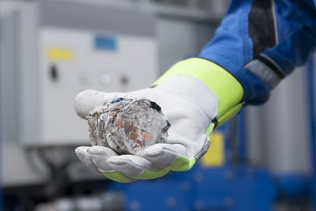 New waste briquetting technology reduces ship waste; Operational costs 25% down