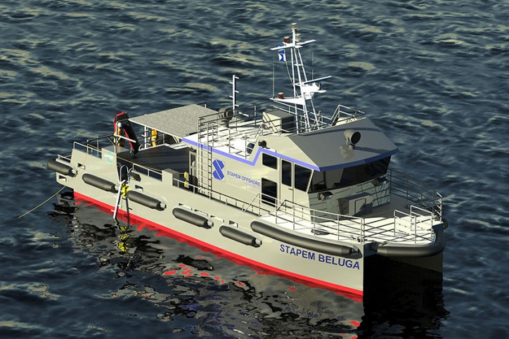 Incat Crowther to Design 18m Catamaran Dive Support Vessels