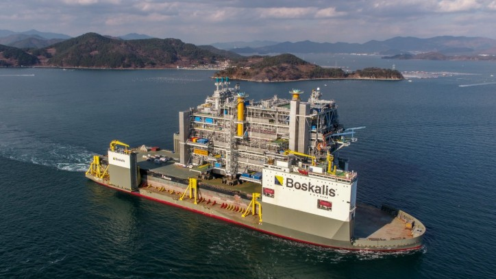 Processing topside leaves Samsung Heavy Industries yard ready for Johan Sverdrup