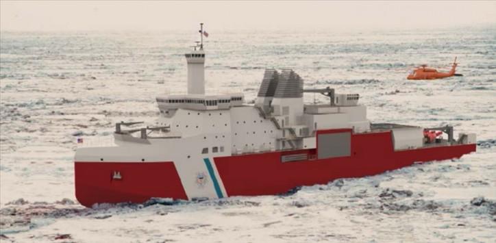 VT Halter Marine awarded the USCG Polar Security Cutter