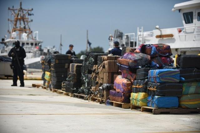 USCG offloads over $214mln estimated wholesale value of cocaine in Miami