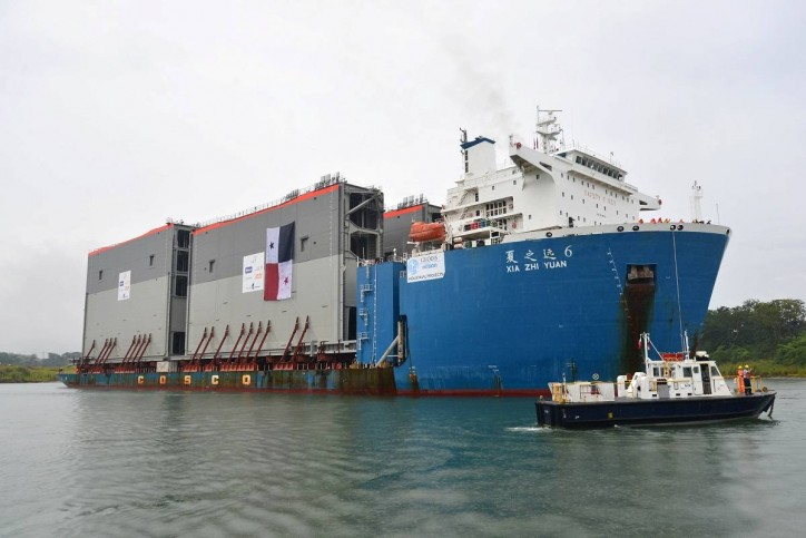 Panama Canal receives Final Shipment of Gates