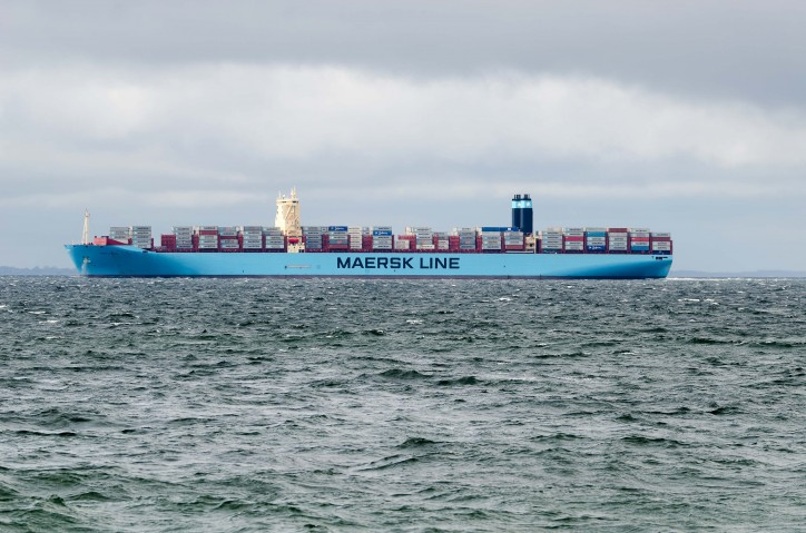 Mary Maersk (IMO number 9619921 and MMSI 219018692)
